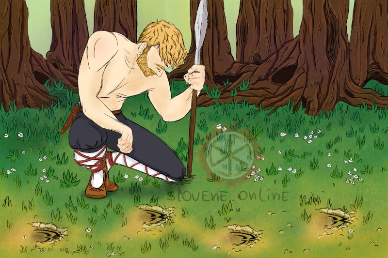 Hunter in Slavic tradition